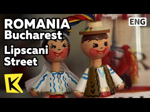 【K】Romania Travel-Bucharest[루마니아 여행-부쿠레슈티]립스카니 공예품 거리/Lipscani Street/Clothes/Hora/Dance/Antique