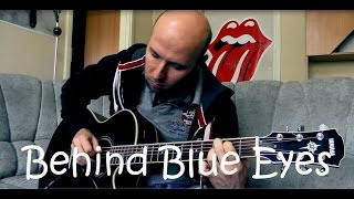 Behind Blue Eyes - Fingerstyle guitar