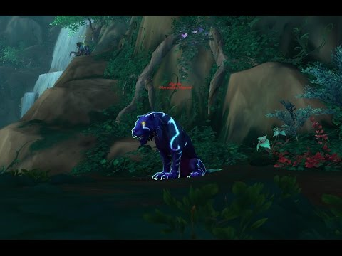 World Of Warcraft Myonix Suramar Legion Rare Spawn Location Youtube