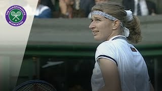 Steffi Graf answers marriage proposal at Wimbledon