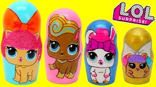LOL Surprise PETS Series 3 Wave 2? With Lol Dolls Surprise Nesting Dolls
