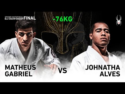 2019 SPYDER INVITATIONAL BJJ CHAMPIONSHIP FINAL -76kg Semi Final : M.Gabriel Vs J.Alves(Full)