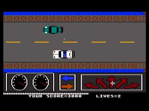 Crime Buster for the Atari 8-bit family