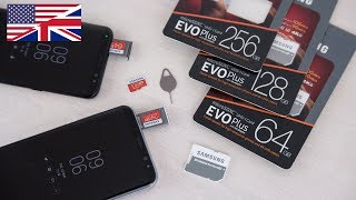 Samsung EVO Plus 2017 MicroSD for Galaxy S8 review 4k