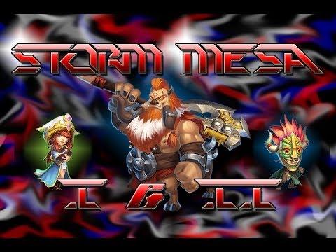 Castle Clash : #2 Storm Mesa 1,2,3,4