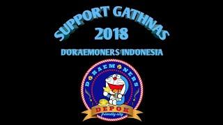 Support Gathnas Doraemoners indonesia regional Depok (meet and greet dubber doraemon DKK)