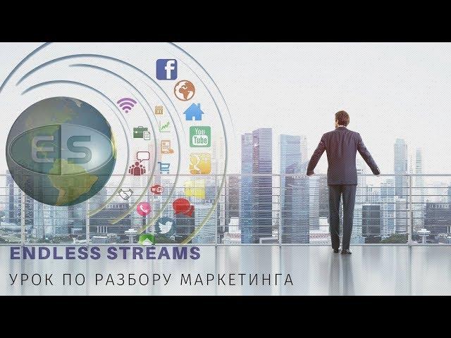 Урок по разбору маркетинга социальной сети Endless Streams.