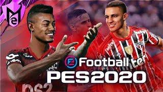 PES 2020 - NOVAS FACES INCRÍVEIS DO BRASILEIRÃO NA DLC 3.0 !!!