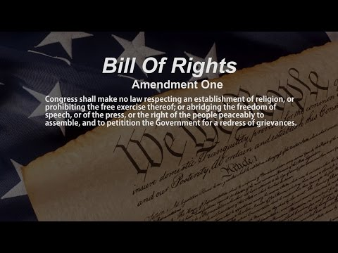 Reading of the Bill of Rights