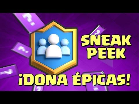 ¡EPIC SNEAK PEEK! DONAR Y PEDIR ÉPICAS, PRECIOS REBAJADOS | Sneak Peek #3 Clash Royale TheAlvaro845