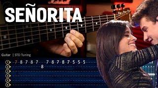 Baixar SEÑORITA - Shawn Mendes, Camila Cabello Guitar Tutorial   Cover Guitarra Chrstianvib