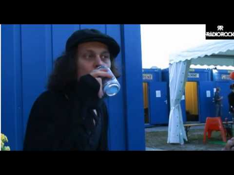 Interview with Ville Valo by Radiorick at Ruisrock 2013 part 1