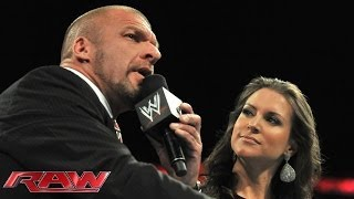 Stephanie McMahon strips Daniel Bryan of the WWE World Heavyweight Title: Raw, June 9, 2014