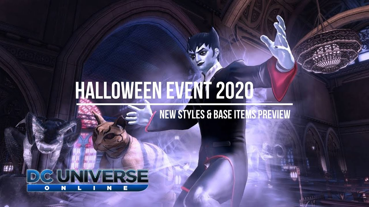 Dcuo Halloween 2020 DC Universe Online   Halloween Seasonal Event 2020   Preview   YouTube