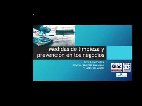 CARES: Medidas de Limpieza y Prevención en los Negocios