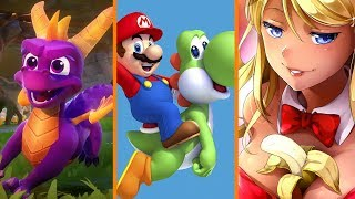 Spyro Delayed + More Mario for Nintendo Switch + Steam Freezes New Games