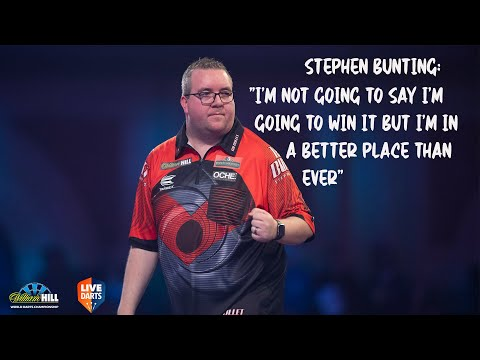 """Stephen Bunting: """"I'm not going to say I'm going to win it but I'm in a better place than ever"""""""