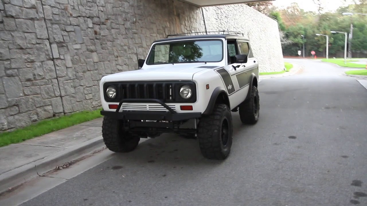 Jeep Matte Black >> 1977 International Harvester Scout II for sale, Matte
