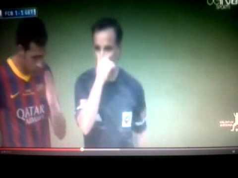 Getafe vs barcelona 2014 2-2