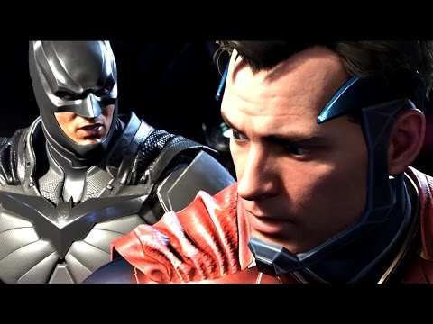 Thumbnail: INJUSTICE 2 All Cutscenes (JUSTICE LEAGUE) Game Movie 1080p 60FPS