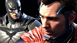 INJUSTICE 2 All Cutscenes (JUSTICE LEAGUE) Game Movie 1080p 60FPS