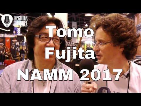 Tomo Fujita interview - NAMM 2017