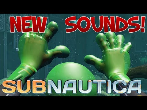 NEW CURE BALL SOUNDS! Warper, PDA Sounds Implemented! Subnautica News And Updates