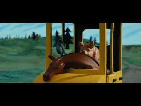 Panique au village  âne