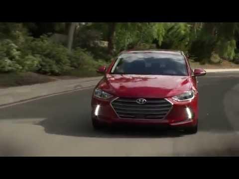 Electric hybrid car 2017 Hyundai