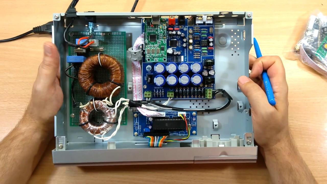 Конструктор для сборки ЦАП на базе AK4495SEQ + XU208XMOS
