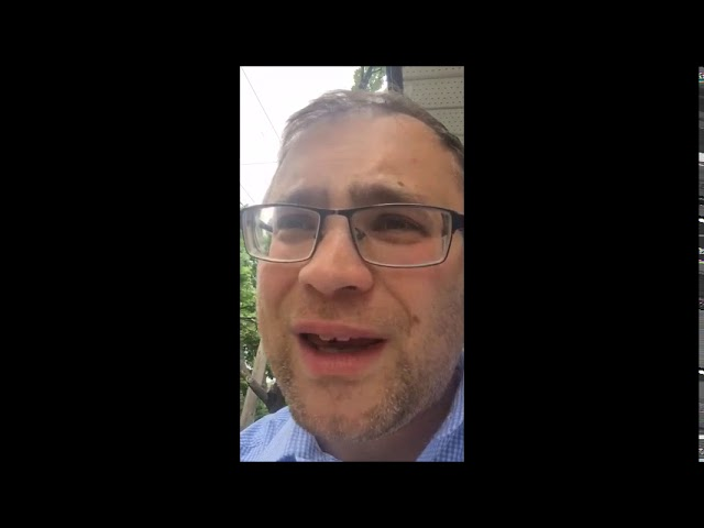 Video Message from Rabbi Knopf - June 11, 2020