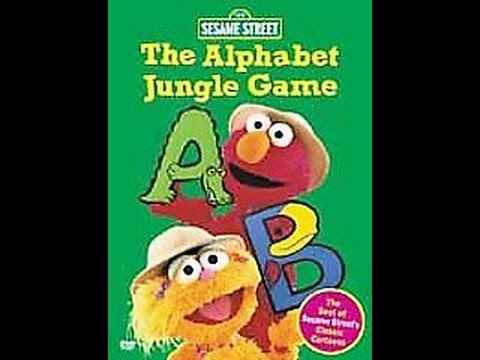 Opening To Sesame Street:The Alphabet Jungle Game 2001 DVD