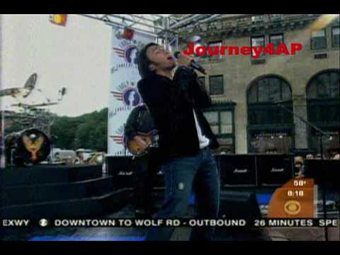 JOURNEY @ CBS EARLY SHOW & NBC TODAY SHOW! 2011 TOUR EUROPE!