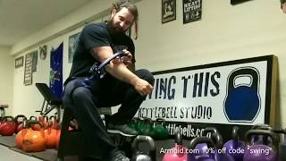 Are you taking care of your kettlebell arms? Check out the Armaid