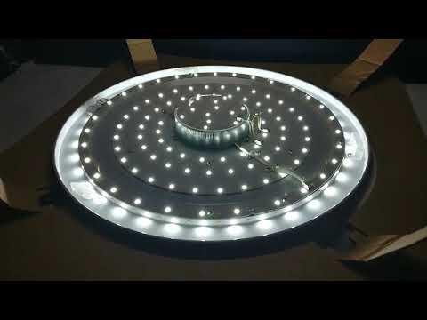 Демонстрация работы светильника feron diamon с пультом - YouTube