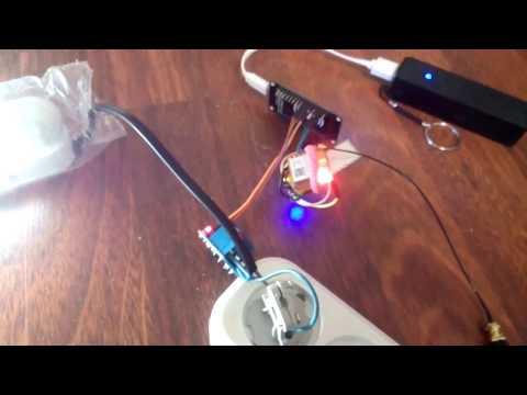 MQTT SIM800l управление нагрузкой по GPRS (мобильному интернет) + Arduino или NodeMCU
