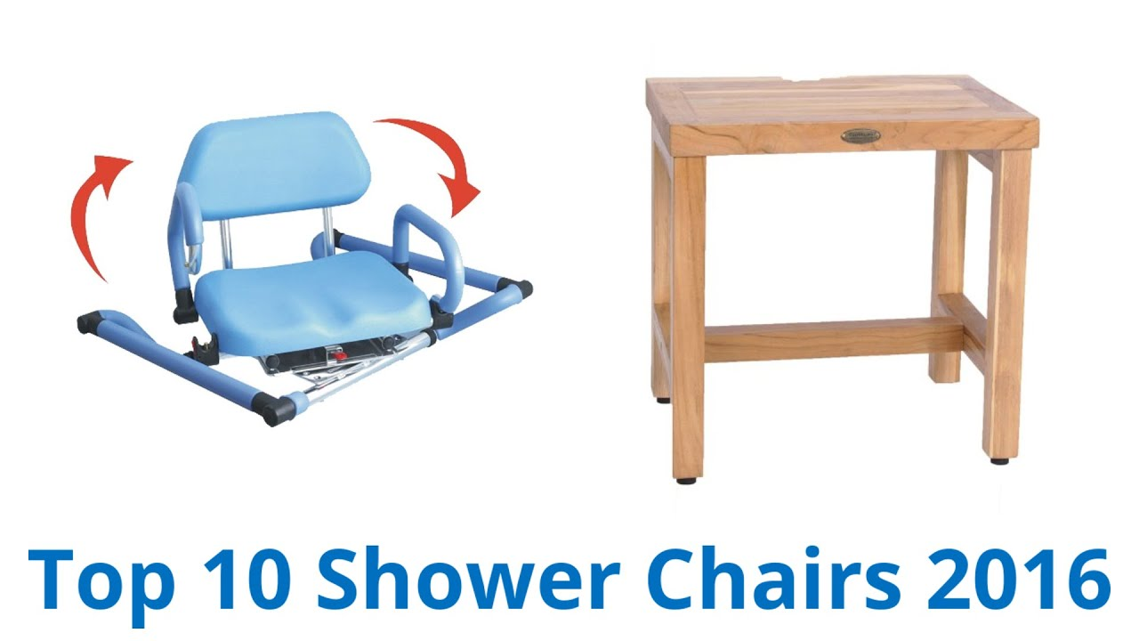 10 Best Shower Chairs 2016