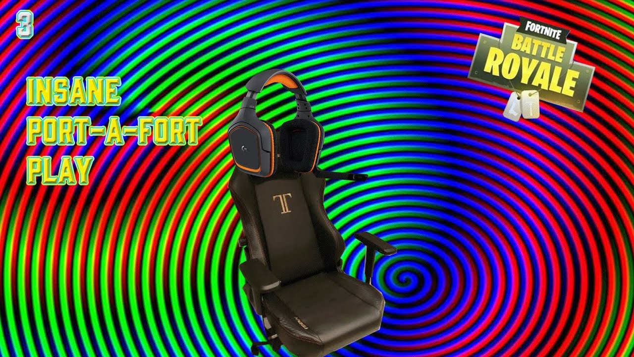 Dr lupo 39 s chair makes an insane port a fort play for Chair in fortnite