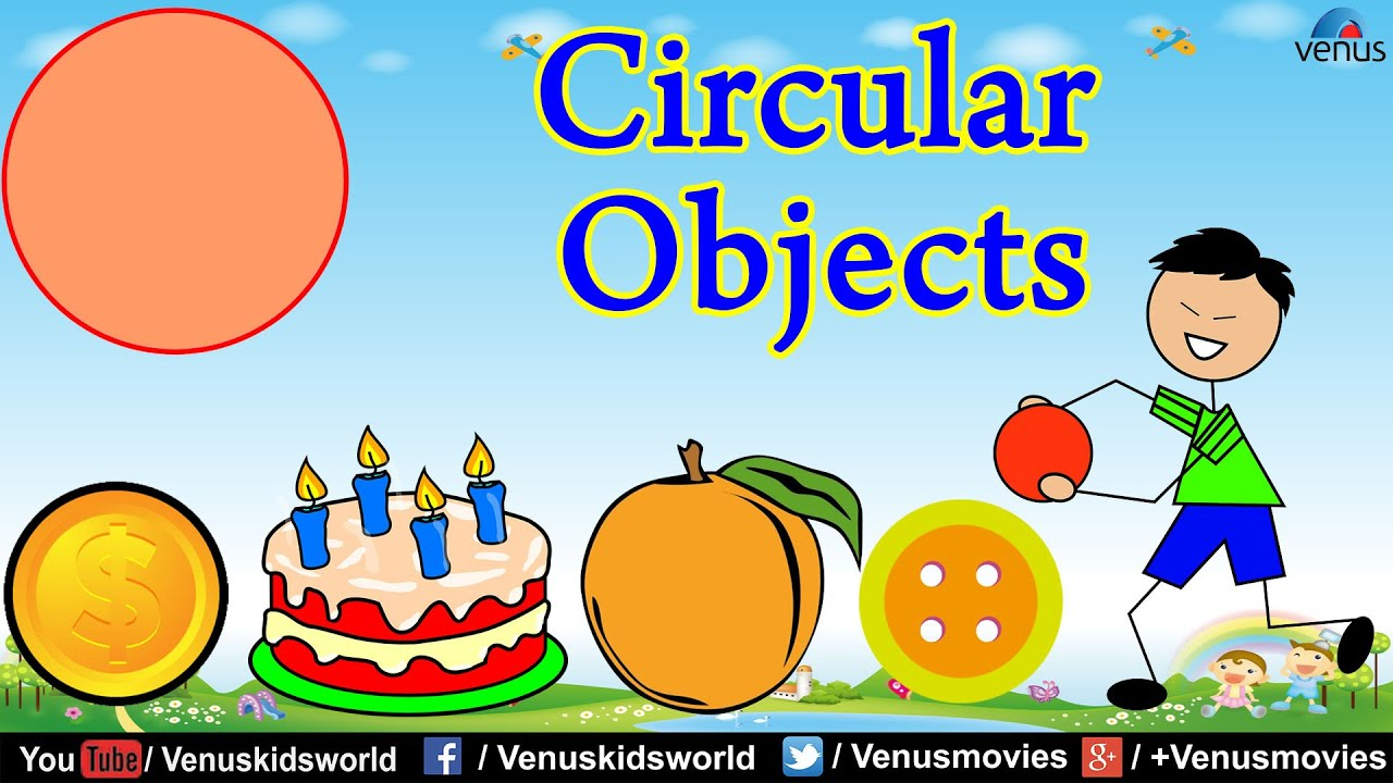 World Of Shapes ~ Circular Objects