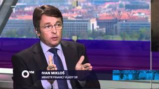 Otázky Václava Moravce ČT24 - Stiglitz, Mikloš, Dlouhý, Švejnar 1/2