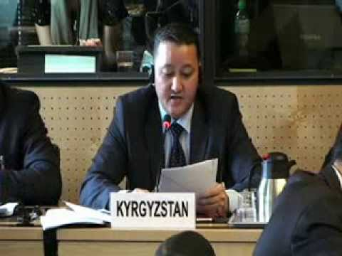 Комитет против пыток, 51-я сессия - Кыргызтан - The Committee against Torture/Kyrgyzstan - PART 2
