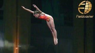 美しすぎる飛び込み!初のナイトダイビング RED BULL CLIFF DIVING UAE 大会