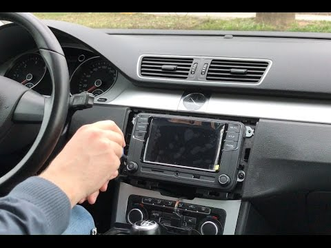 how to remove install rcd 330g plus on passat b7 2011. Black Bedroom Furniture Sets. Home Design Ideas