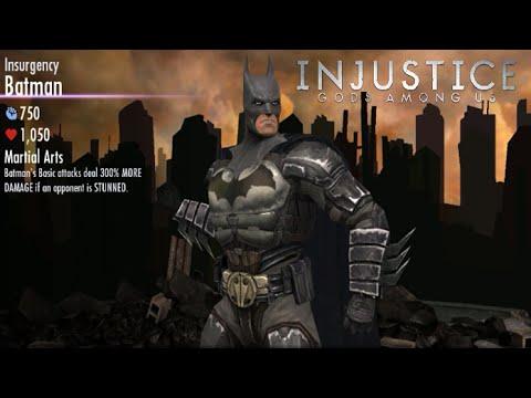 Injustice: Gods Among Us - Batman Insurgency Gameplay