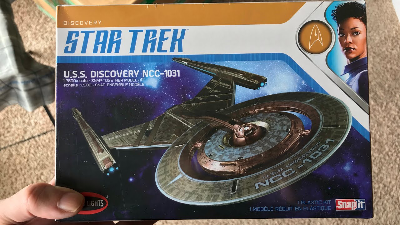 Star Trek Discovery Polar Lights unboxing and review
