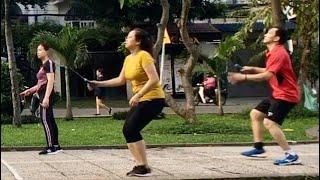 Badminton on November 28, 2020 | Khanh/Ha/Nhien vs Cuong/Oanh/Anh