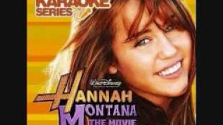 Hannah Montana- Spotlight (Karaoke/Instrumental) OFFICIAL