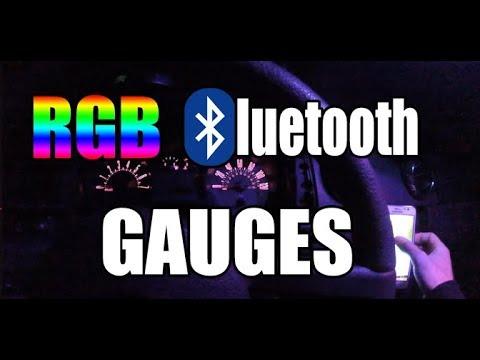 Smartass Garage - DIY Instructional - RGB Bluetooth Gauges
