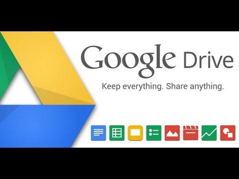 ما هو Google Drive وكيفيه الأستفاده منه Youtube