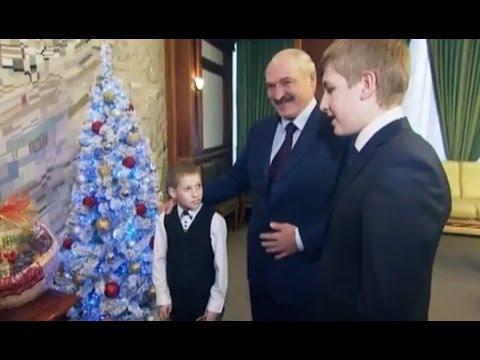 Первое интервью Николая Лукашенко и встреча юного журналиста из России с Президентом Беларуси